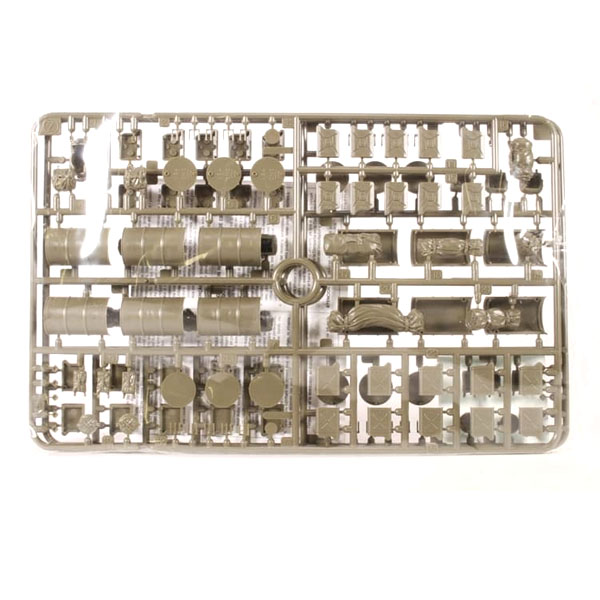 Accessori per veicoli alleati – Set miniature militare TAMIYA_0000_Levels 2