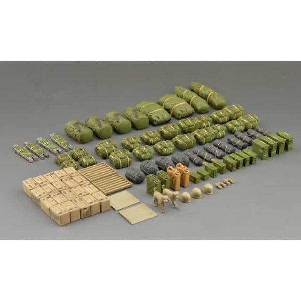 Modern US Military Equipment Set montata