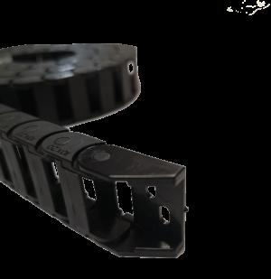 catena portacavi elettrici per stampanti 3d o macchine cnc