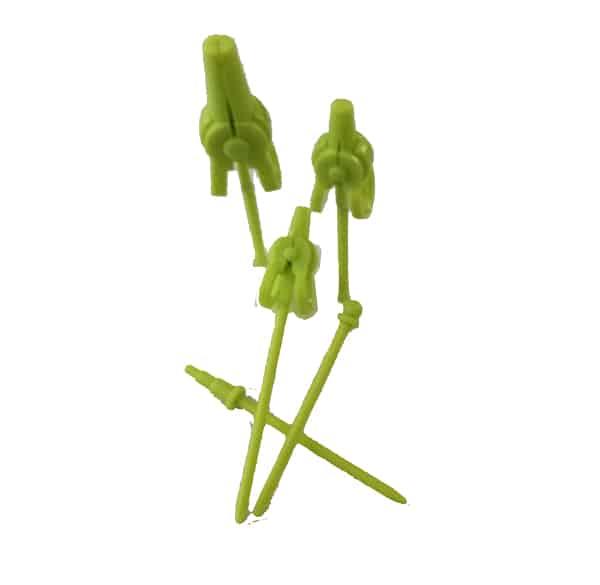 clip multifunzione in plastica