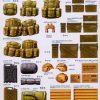 Copertina scatola equipaggiamento militare