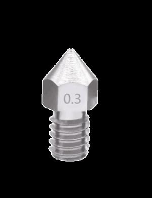 nozzle mk7 inox ricambi estrusori stampanti 3D