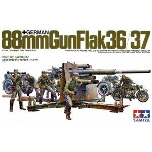 88mm GUN FLAK 36-37 1-35