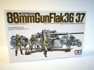 88 mm gun flak Tamiya 1/35