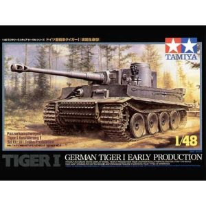 German Tiger I 1-48