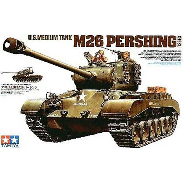 M26 Pershing 1-35 – Carro armato americano medio