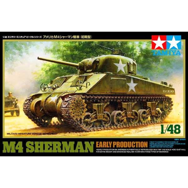 M4 sherman Tamiya 1-48