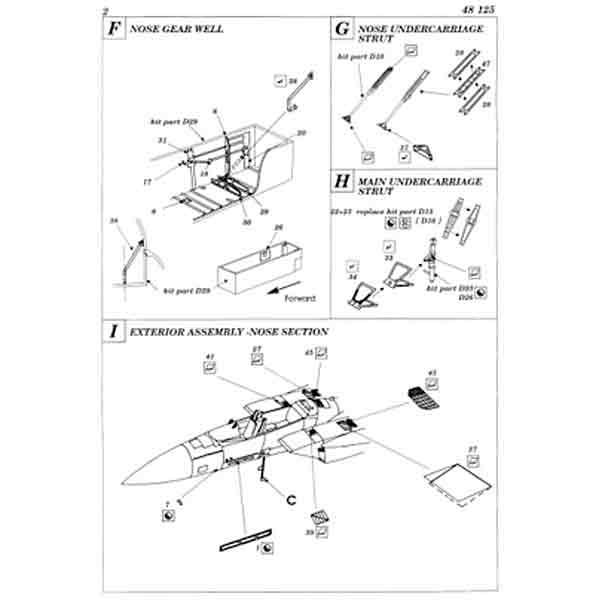 istruzioni Accessori F15 Eagle