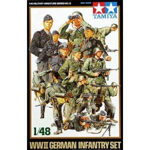 fanteria tedesca tamiya 1-48