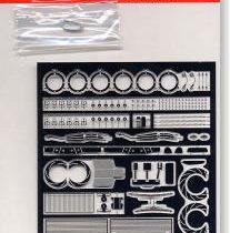 Accessori Impreza WCR realizzati in fotoincisione scala 1/24