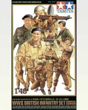 soldati inglesi wwii tamiya