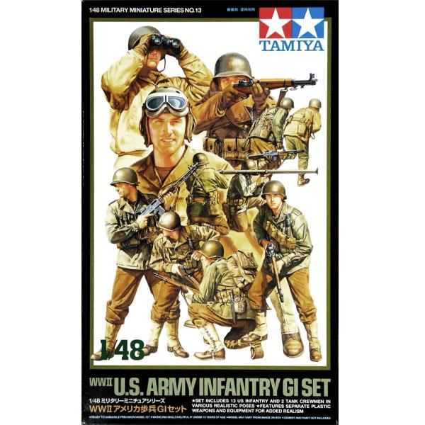 US Army Infantery gi set Tamiya 1/48
