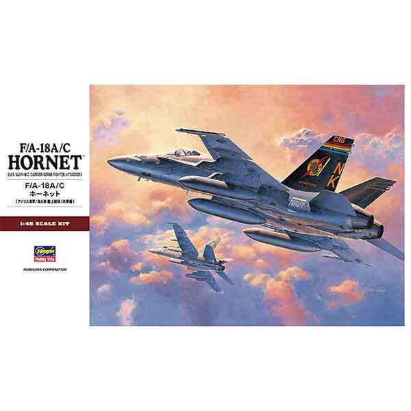 F18 Hornet in scala 1/48 della Hasegawa