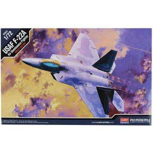 F-2F-22A Raptor Academy Scala 1:722A-RAPTOR-ACADEMY-SCALA-1-72-01