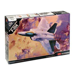 F-22A Raptor Academy Scala 1:72