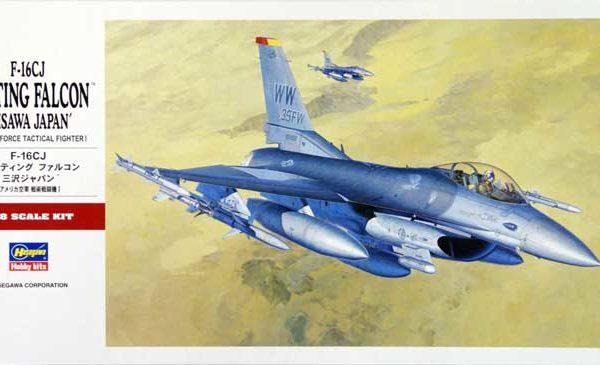 F16 Fighting Falcon Hasegawa 1/48