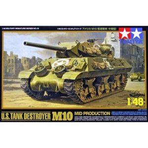 U.S. Tank Destroyer M10 1-48