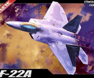 f22-raptor scala 1/72 academy modellismo statico
