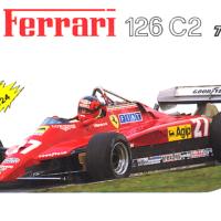 Ferrari 126 C2 Turbo scala 1/24