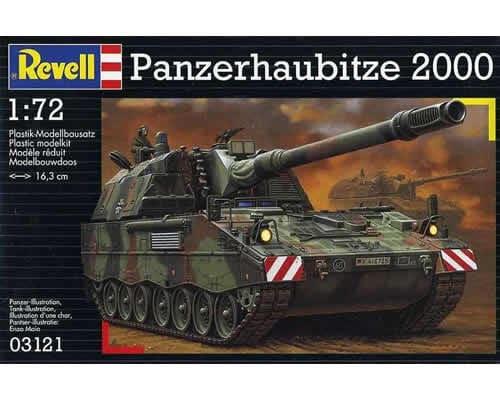 Carro armato Panzerhaubitze 2000 Revell in scala 1/72