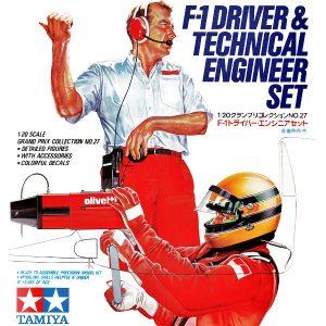 pilota ingegnere f1 set Tamiya 20027