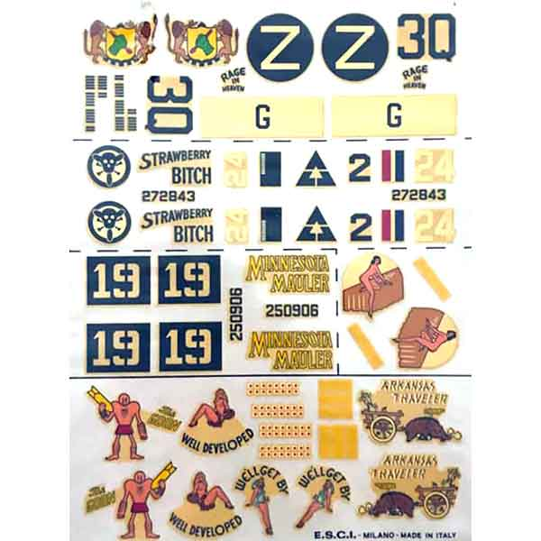 DECAL B24 CONSOLIDATED Esci Scala 1:72