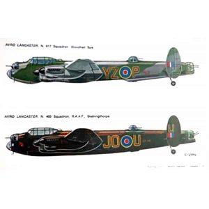 Decal Avro Raf scala 1/72