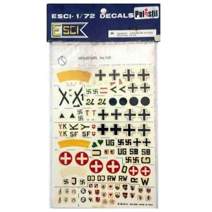 Decal FI 156 Storch scala 1/72 Esci