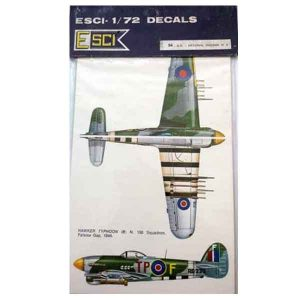 Decal Spitfire MK1 in scala 1/72