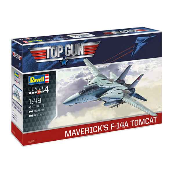 "F-14A TOMCAT ""TOPGUN"" REVELL SCALA 1:48"