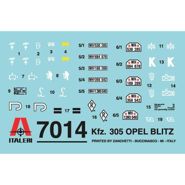 KFZ 305 OPEL 1-72 3