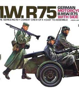 BMW R75 tamiya scala 1/35