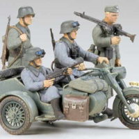 BMW R75 tamiya scala 1/35