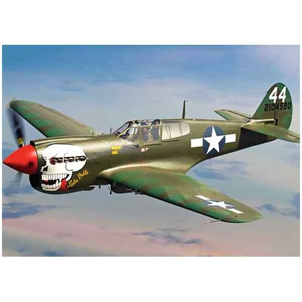 Decal P40 Curtiss scala 1/72