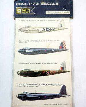 Decal Mosquito in scala 1/72