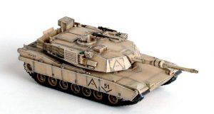 M1A1 Abrams scala 1/72 della Dragon guerra del golfo