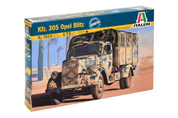 KTZ 305 Opel scala 1/72 revell