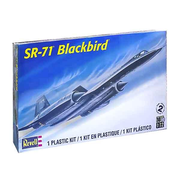 BLACKBIRD SR-71 REVELL SCALA 1:72