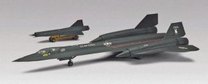 Blackbird SR-71 Lockheed revell scala 1/72