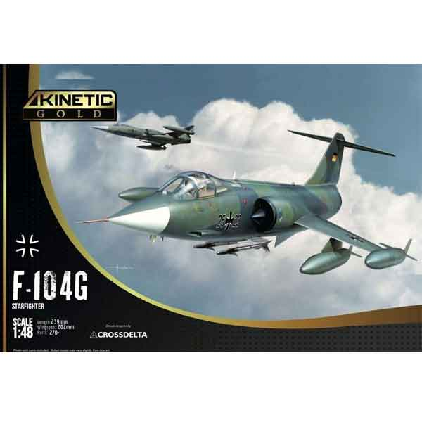 F-104G STARFIGHTER KINETIC SCALA 1:48