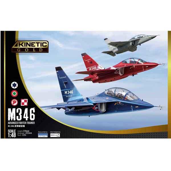 M-346 Leonardo Master Kinetic 48063 Scala 1:48