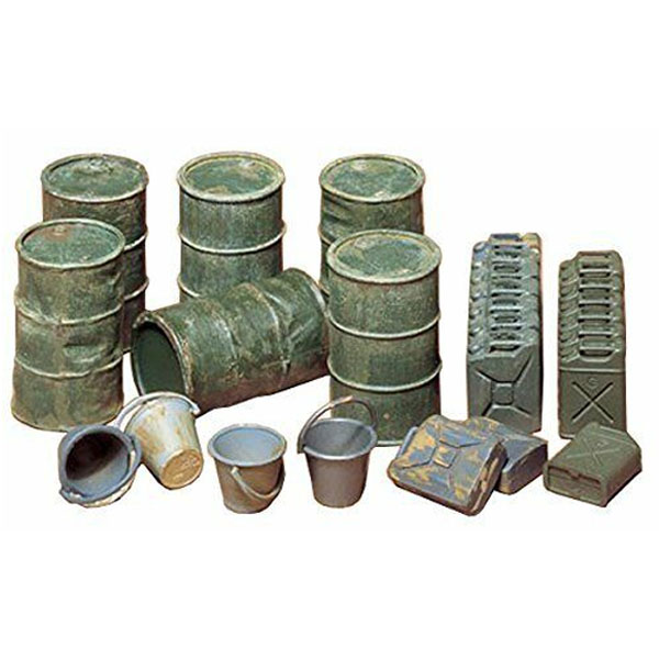 Military Miniatures Jerry Can Set 1/35
