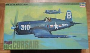 F-4U Corsair in scala 1/48 hasegawa Cod. 09009