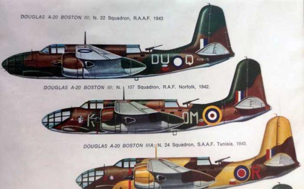 Decal Douglas Boston/Lockheed Martin