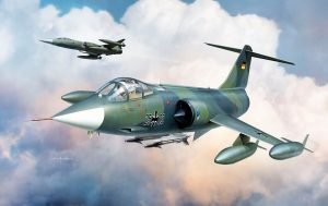 F-104/G starsfighter scala 1/48 Kinetic