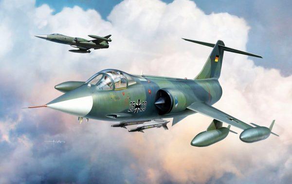 F-104/G starsfighter scala 1/48 Kinetic