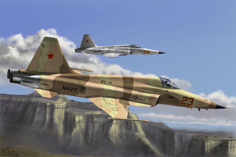 F-5 Hobby Boss 1/72