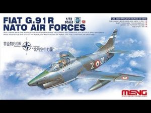 G.91/R Fiat meng in scala 1/72