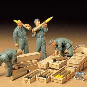 soldati tedeschi carica munizioni tamiya 35188 scala 1:35