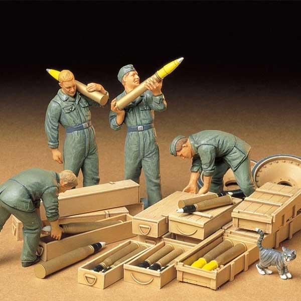 soldati tedeschi carica munizioni